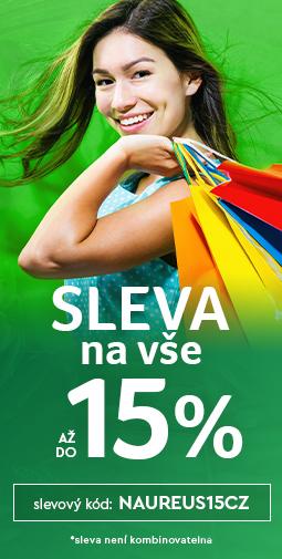 15% Sleva na celý sortiment  - více než 20 000 produktů do zítra 27.10.2020