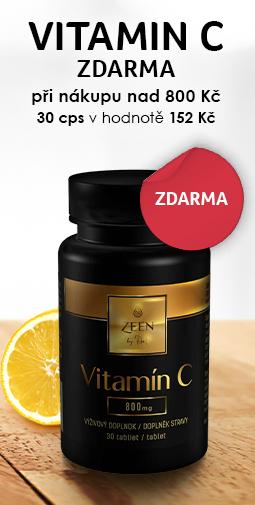 Vitamín C zdarma + Doprava zdarma s vybranými produktmi