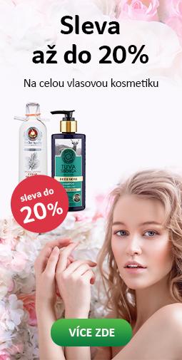 Sleva až do 20% kosmetika na vlasy do 24.05.2019