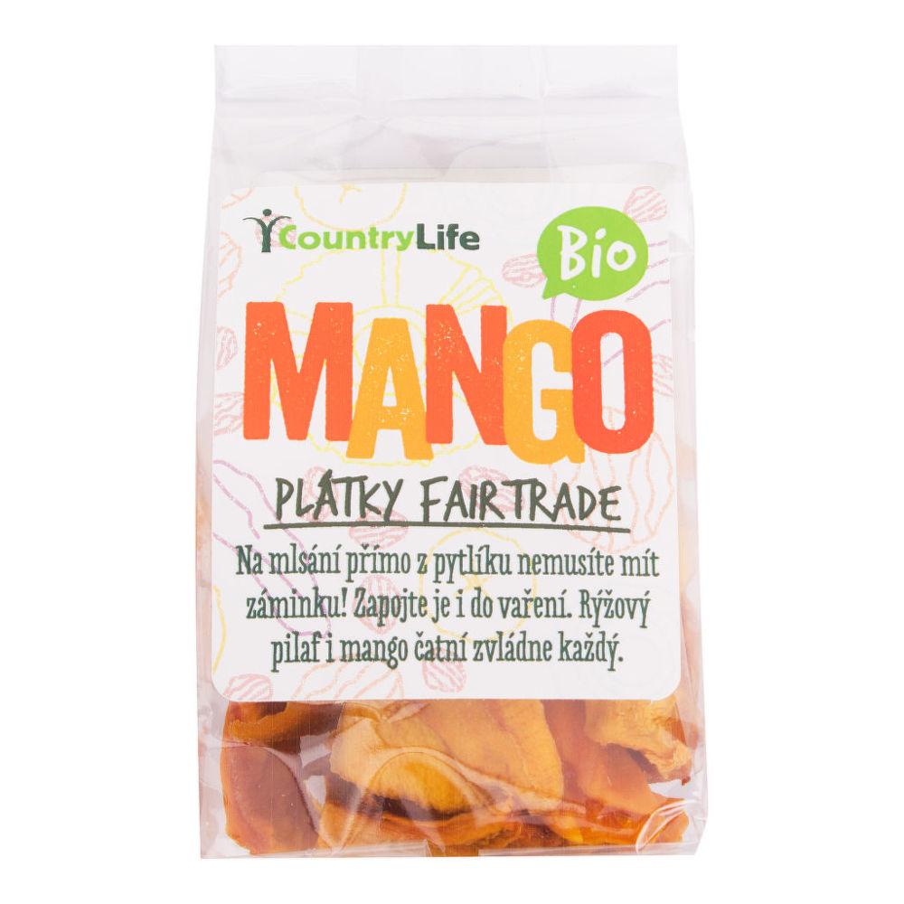 Country Life Mango plátky sušené 80 g BIO 80 g