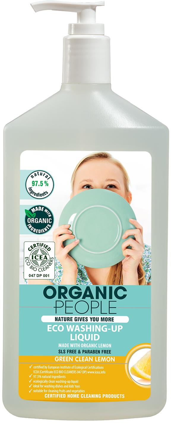 Natura Siberica Eko gel na mytí nádobí - citron 500 ml
