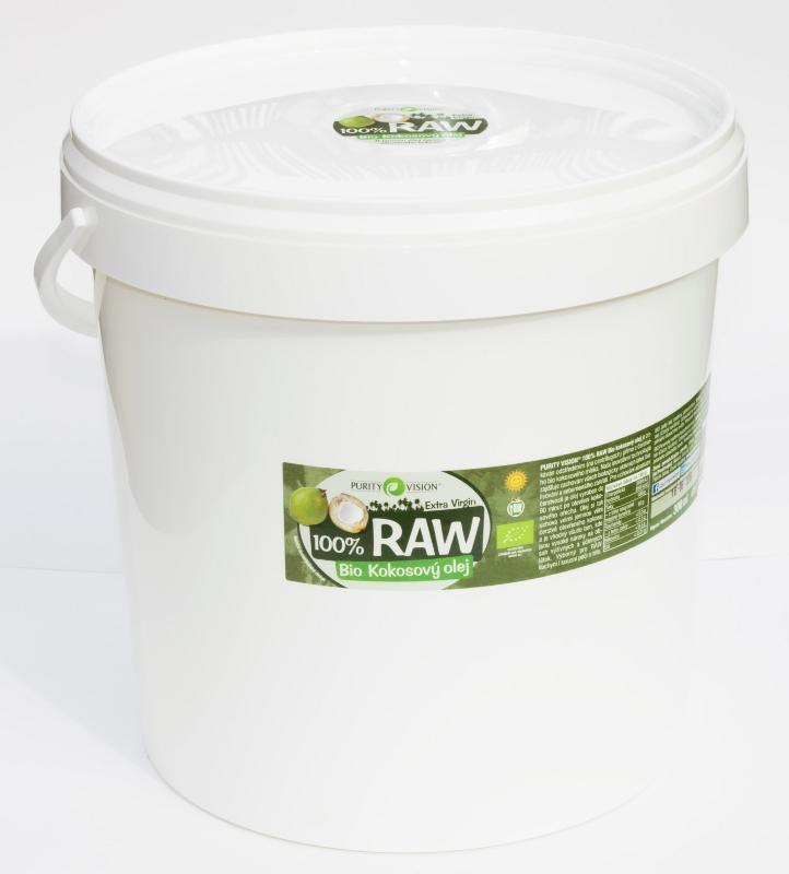 Purity Vision RAW kokosový olej 10 1 10 l