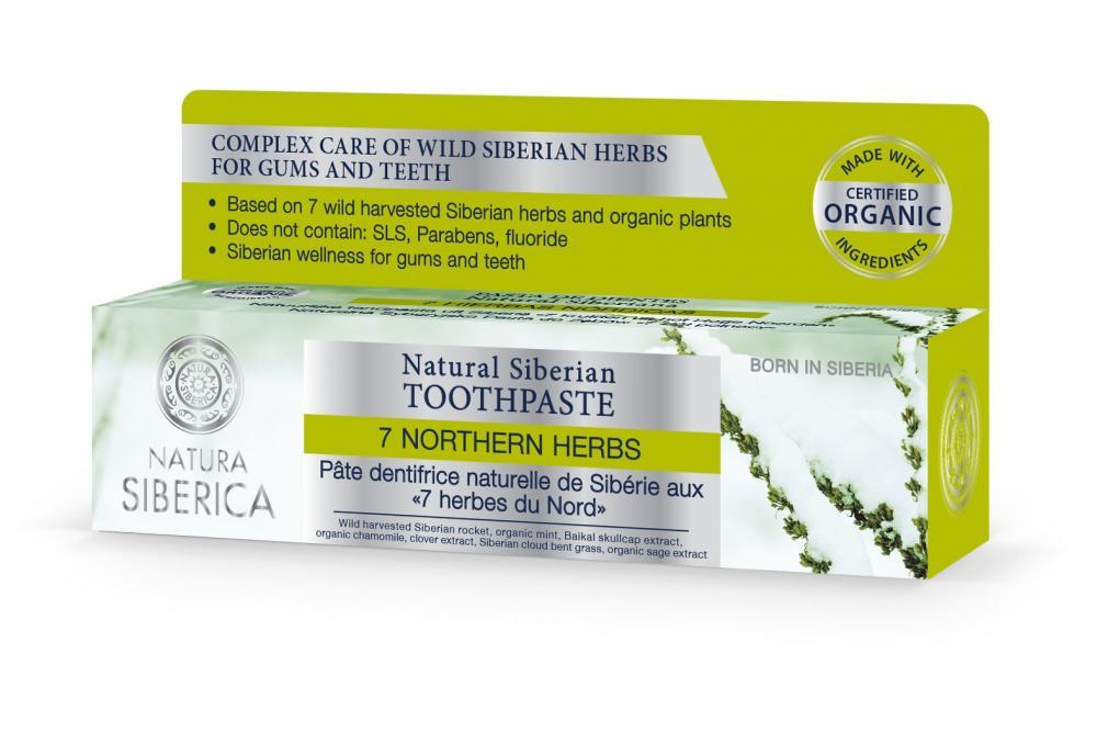 Přírodní sibiřská zubní pasta - 7 sibiřských bylin