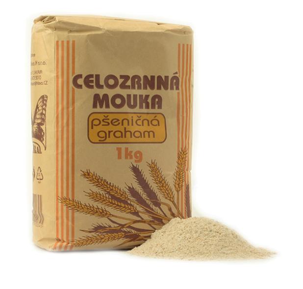 Natural JihlavaCL Mouka pšeničná celozrnná GRAHAM 1kg 1 kg