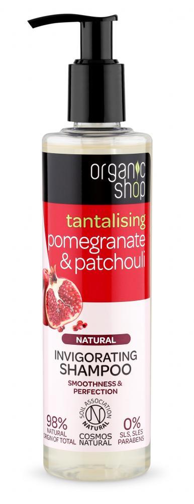 Organic Shop Organic Shop - Granátové jablko & Pačuli - Povzbuzující šampon 280 ml 280 ml