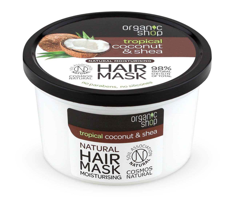 Organic Shop Organic Shop - Kokos & Maslovník - Maska na vlasy 250 ml 250 ml