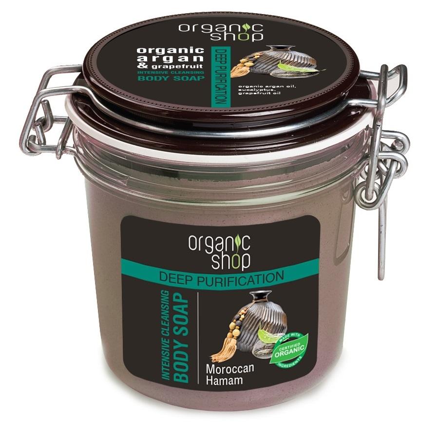 Organic Shop Organic Shop - Marocký Hamam - Intenzivní čistící tělové mýdlo 350 ml 350 ml