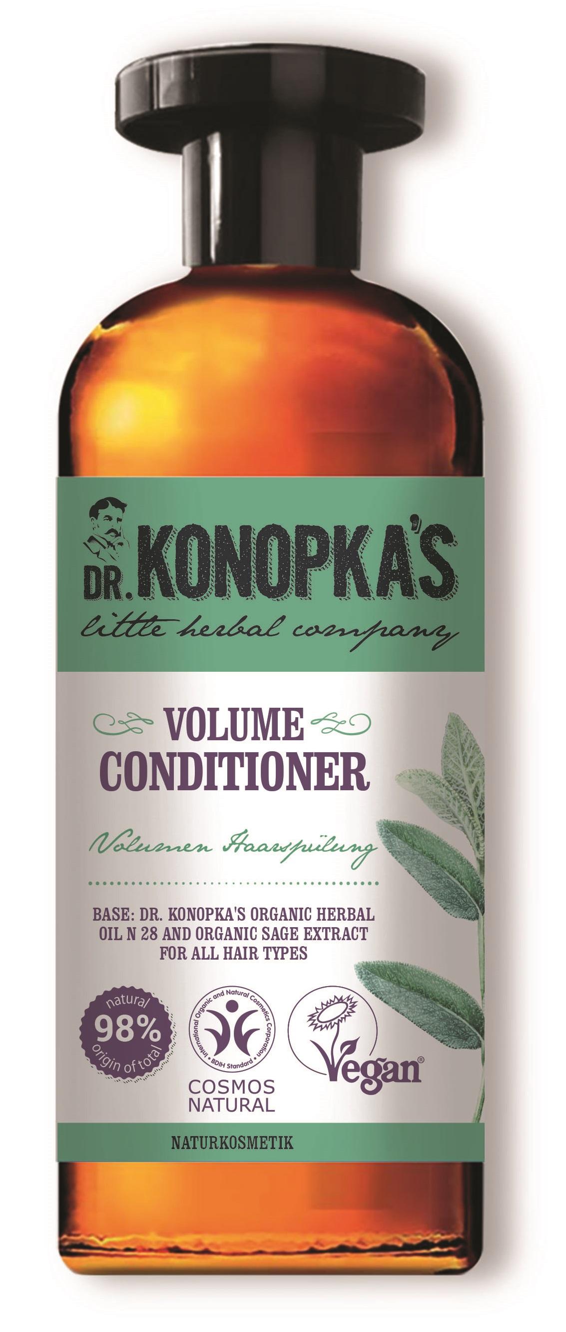 Dr. Konopka´s Dr.Konopka'S - Kondicionér na objem vlasů 500 ml 500 ml