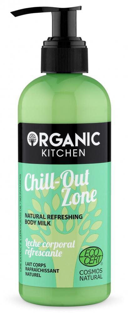 Levně Organic Kitchen Přírodní osvěžující tělové mléko 260 ml