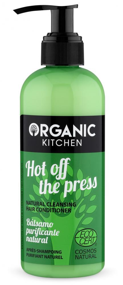 Organic Kitchen Přírodní čistící vlasový kondicionér - hot off the press 260 ml