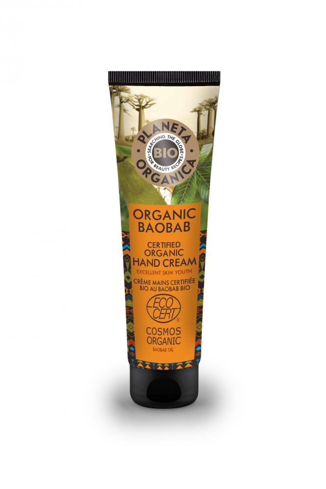 Levně Planeta Organica Krém na ruce Baobab 75 ml