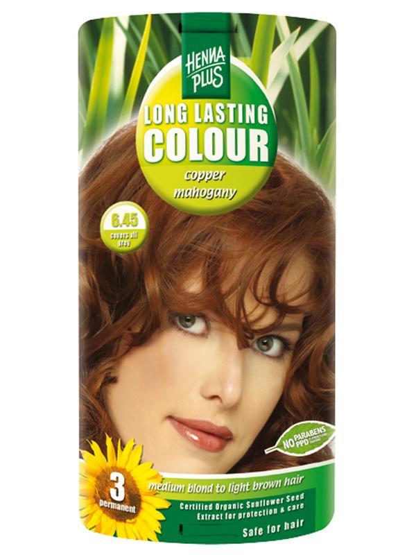 HennaPlus Hennaplus Dlouhotrvající barva Měděný Mahagon 6.45 40 ml + 40 ml + 20 ml