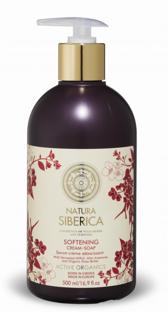 Natura Siberica Zjemňující krémové mýdlo 500ml
