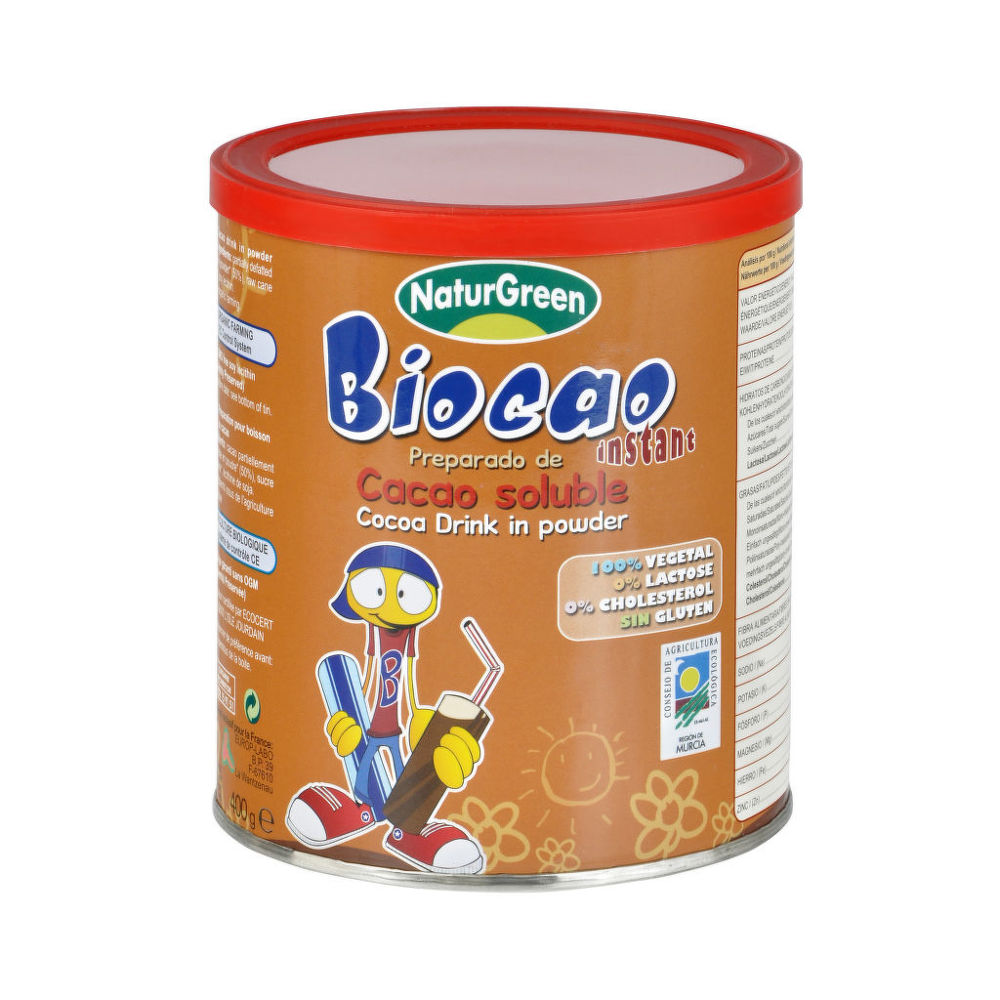 Country Life Kakao instantní 400 g BIO NATURGREEN 400 g
