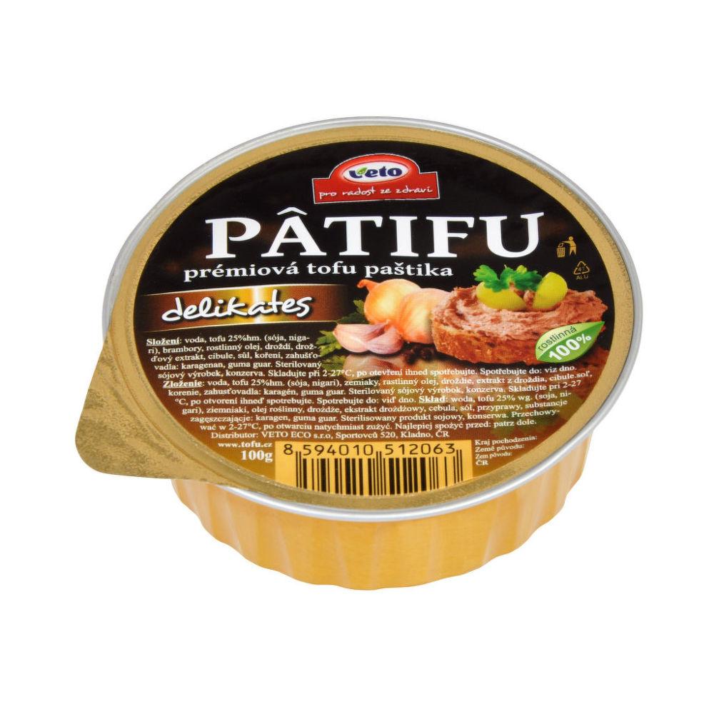 Paštika PATIFU delikates 100 g