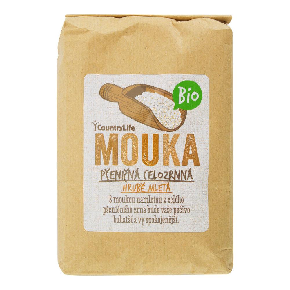 Country Life Mouka pšeničná celozrnná hrubě mletá 1 kg BIO COUNTRY LIFE 1 kg