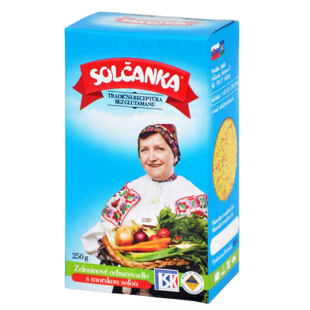 Levně Country Life Solčanka s mořskou solí 250g SOLČANKA 250 g