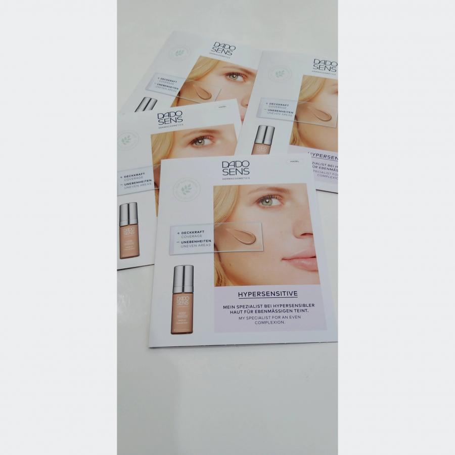 VZOREK hypersenzitivní Make up HAZEL pro citlivou a mírně zarudlou pokožku 1x2ml