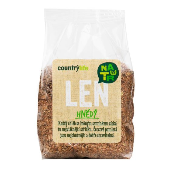 Country Life Len hnědý 300 g 300 g