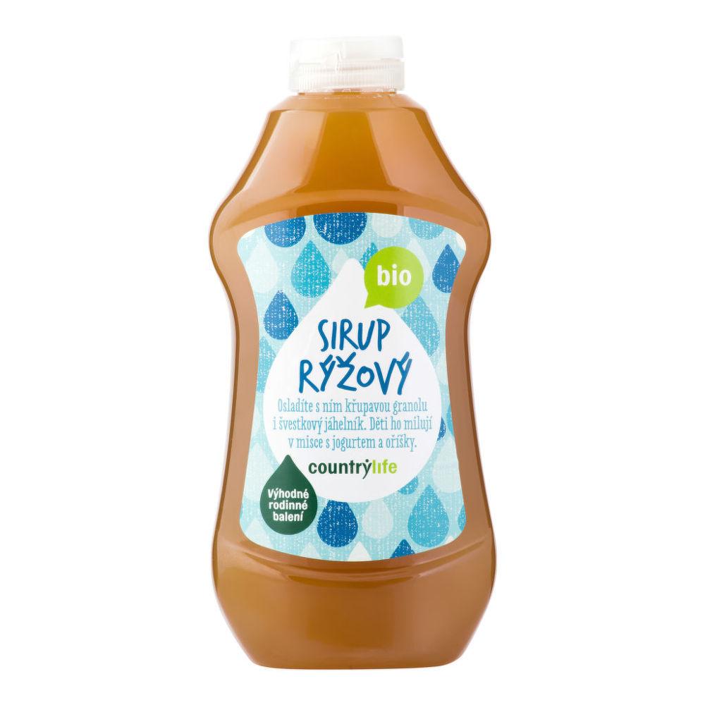Country Life Sirup rýžový 874 ml BIO COUNTRY LIFE 874 ml