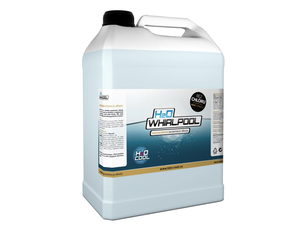 H2O-COOL H2O WHIRLPOOL - chemie pro vířivé vany 5 l 5 l