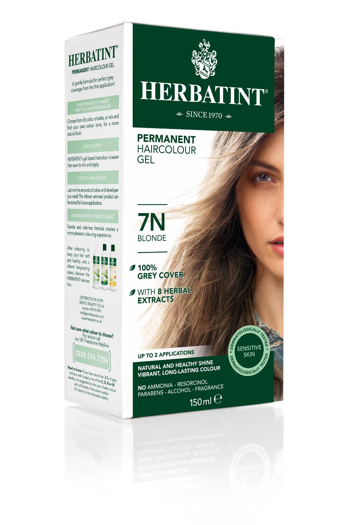 HERBATINT HERBATINT permanentní barva na vlasy blond 7N 150 ml