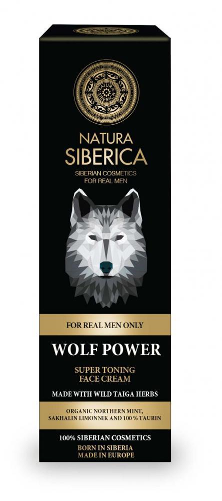 Super tonizující krém na obličej Síla vlka