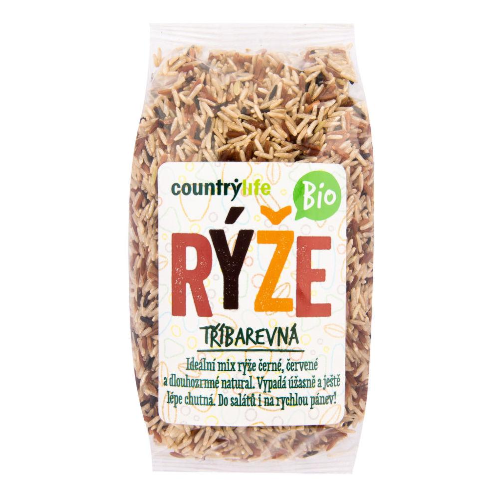 Country Life Rýže tříbarevná 500 g BIO COUNTRY LIFE 500 g