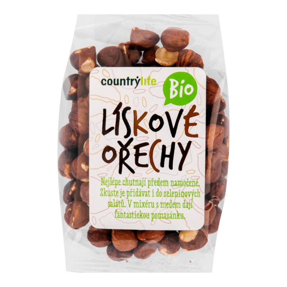 Country Life Lískové ořechy 100 g BIO COUNTRY LIFE 100 g