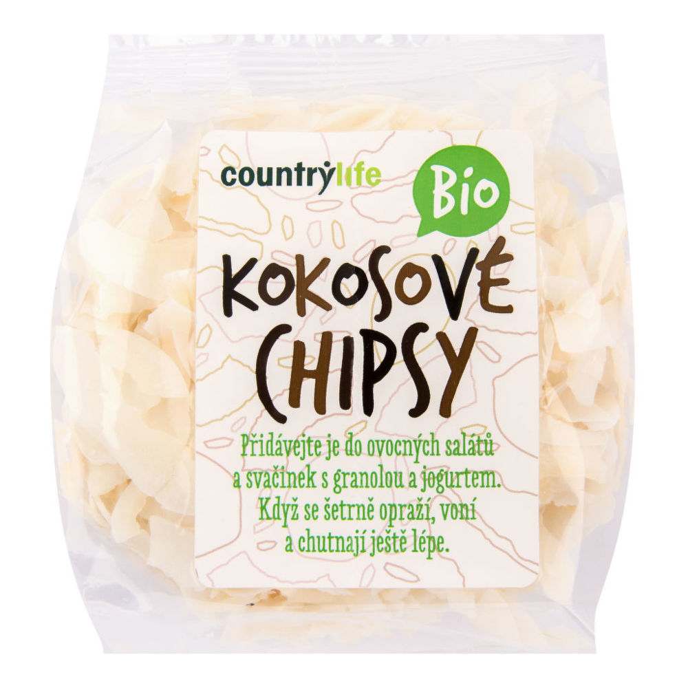 Country Life Kokosové chipsy 150 g BIO COUNTRY LIFE 150 g