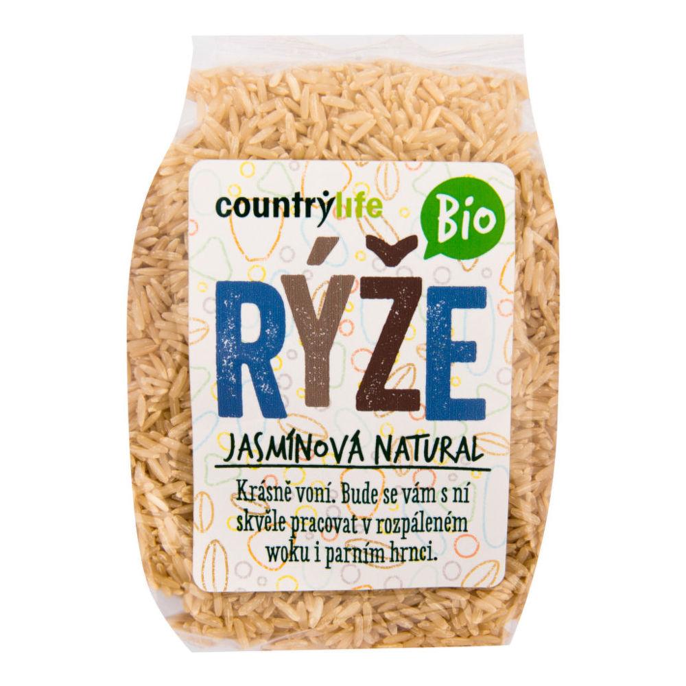 Country Life Rýže jasmínová natural 500 g BIO COUNTRY LIFE 500 g
