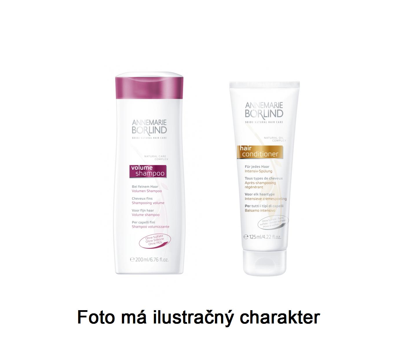 Annemarie Börlind Šampon na objem + vlasový kondicionér - VZOREK 2 x 8 ml