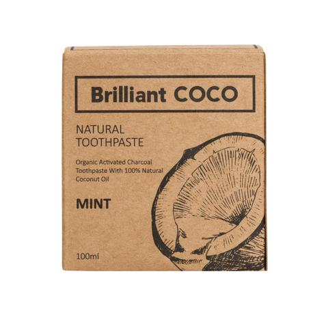 Brilliant COCO zubní pasta ZERO WASTE