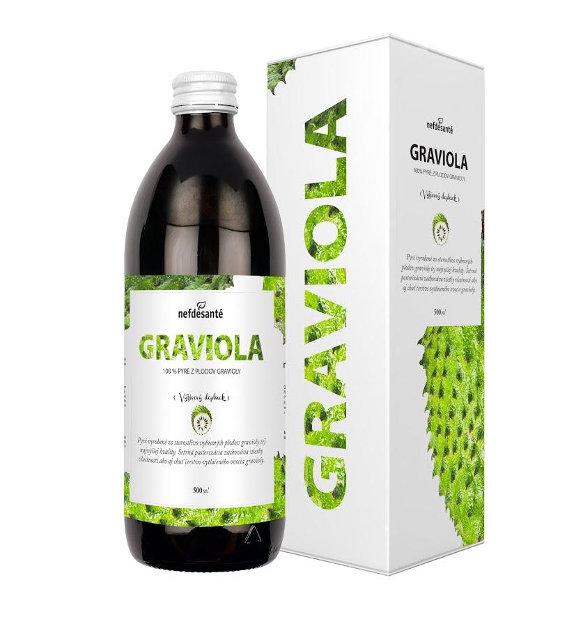 Graviola (100% pyré z gravioly s přídavkem vitamínu C 500 ml)