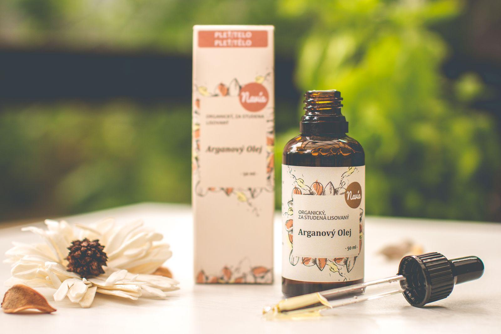 Kvitok Organický Arganový olej 50 ml
