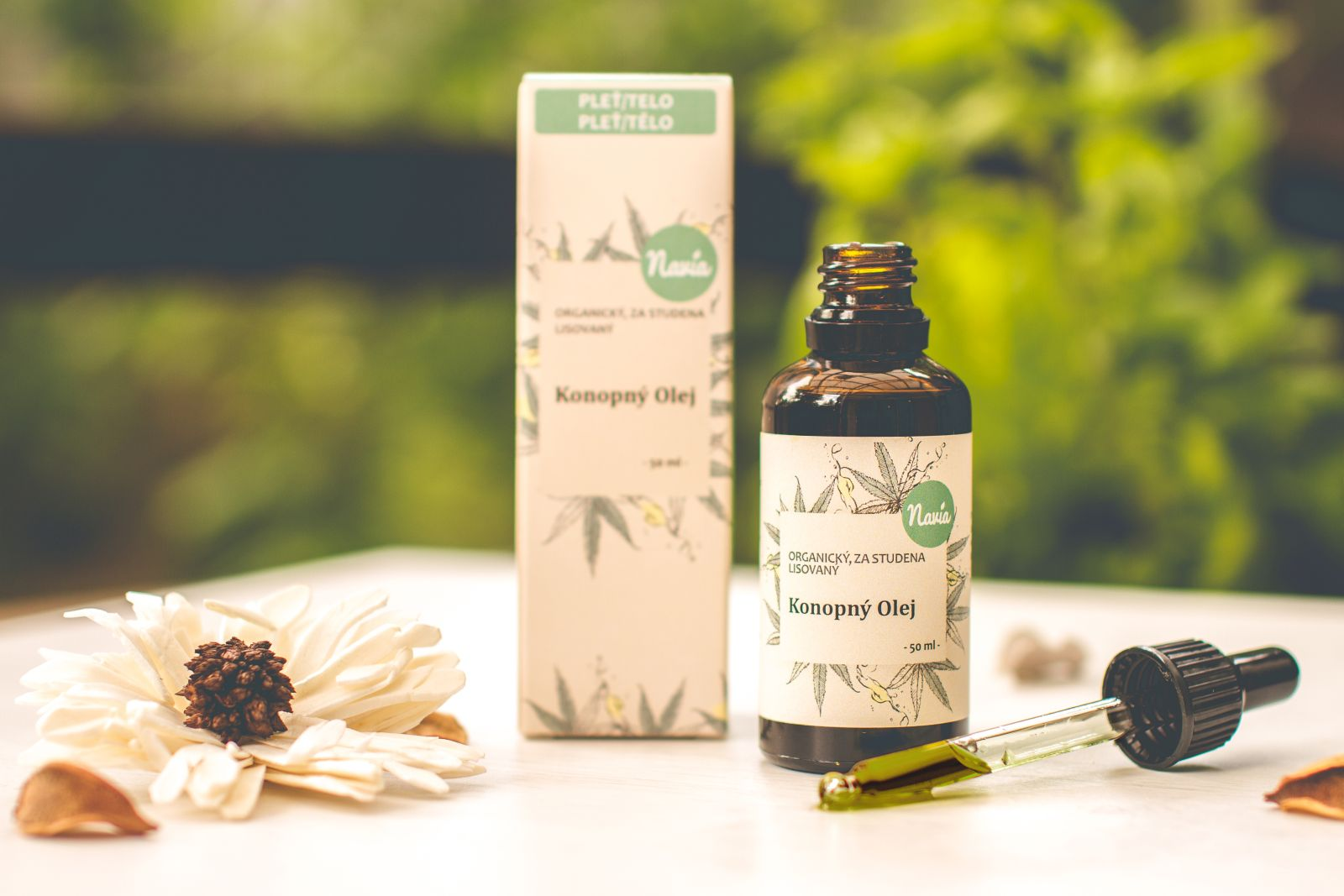 Kvitok Organický Konopný Olej 50 ml