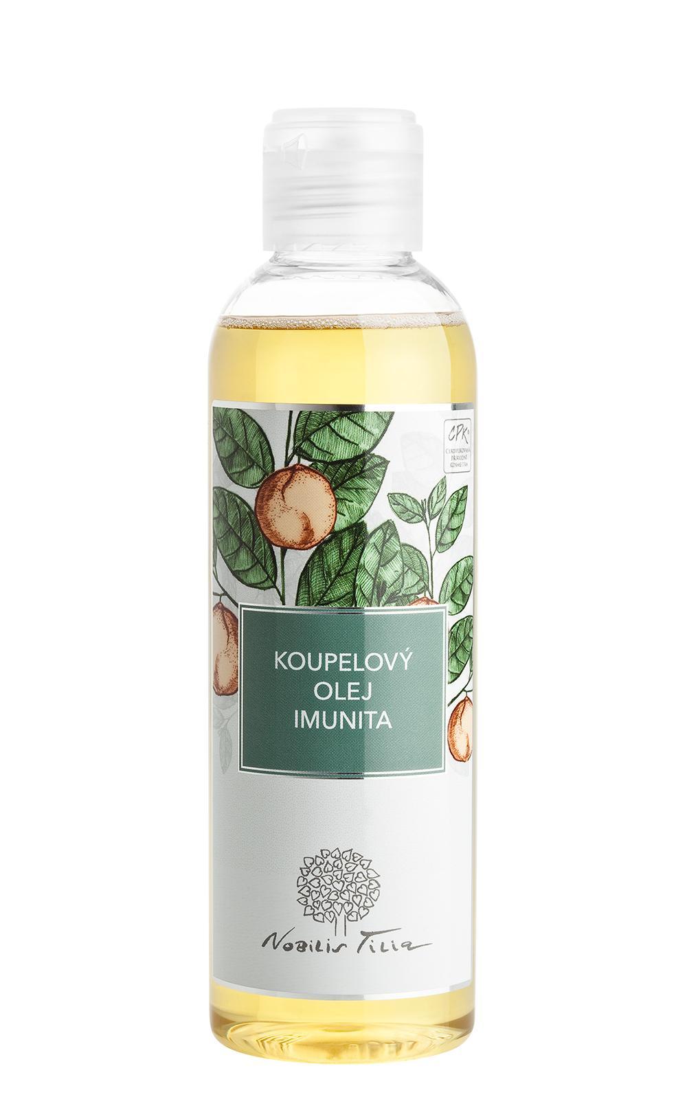 Nobilis Tilia Koupelový olej IMUNITA - 200 200 ml