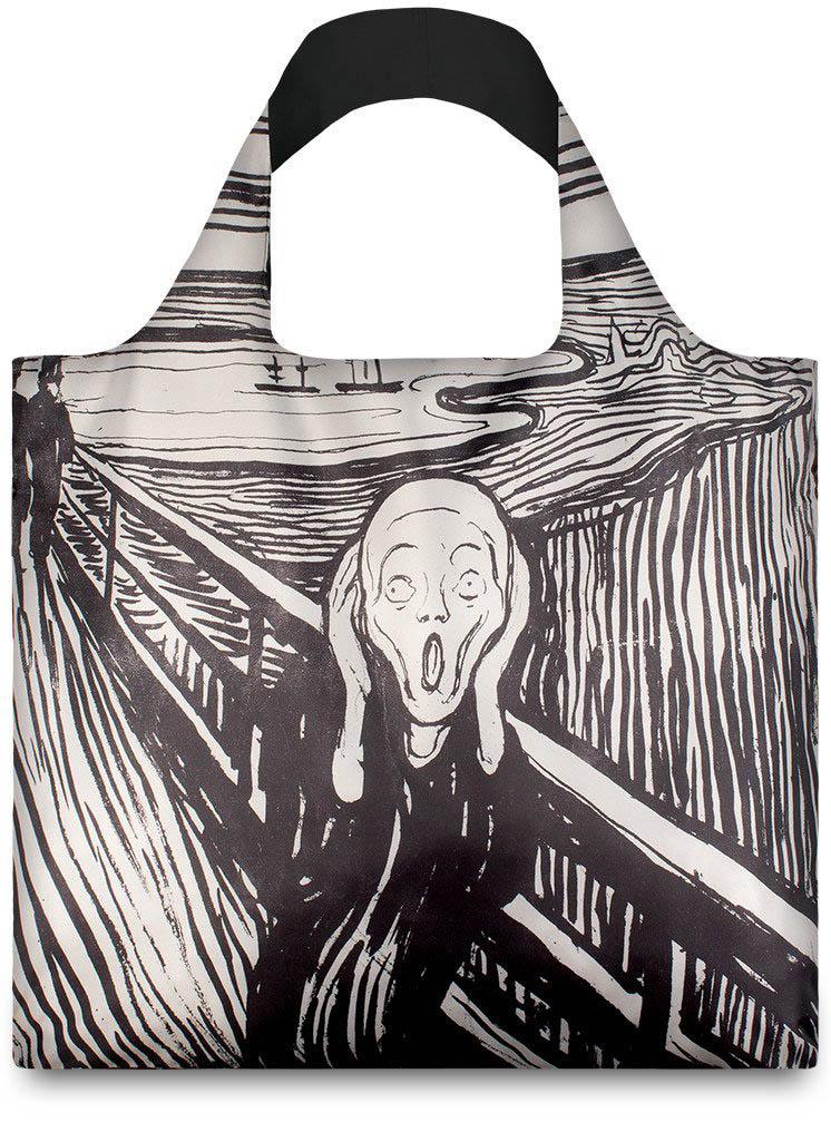 Nákupní taška LOQI Museum, Munch - The Scream