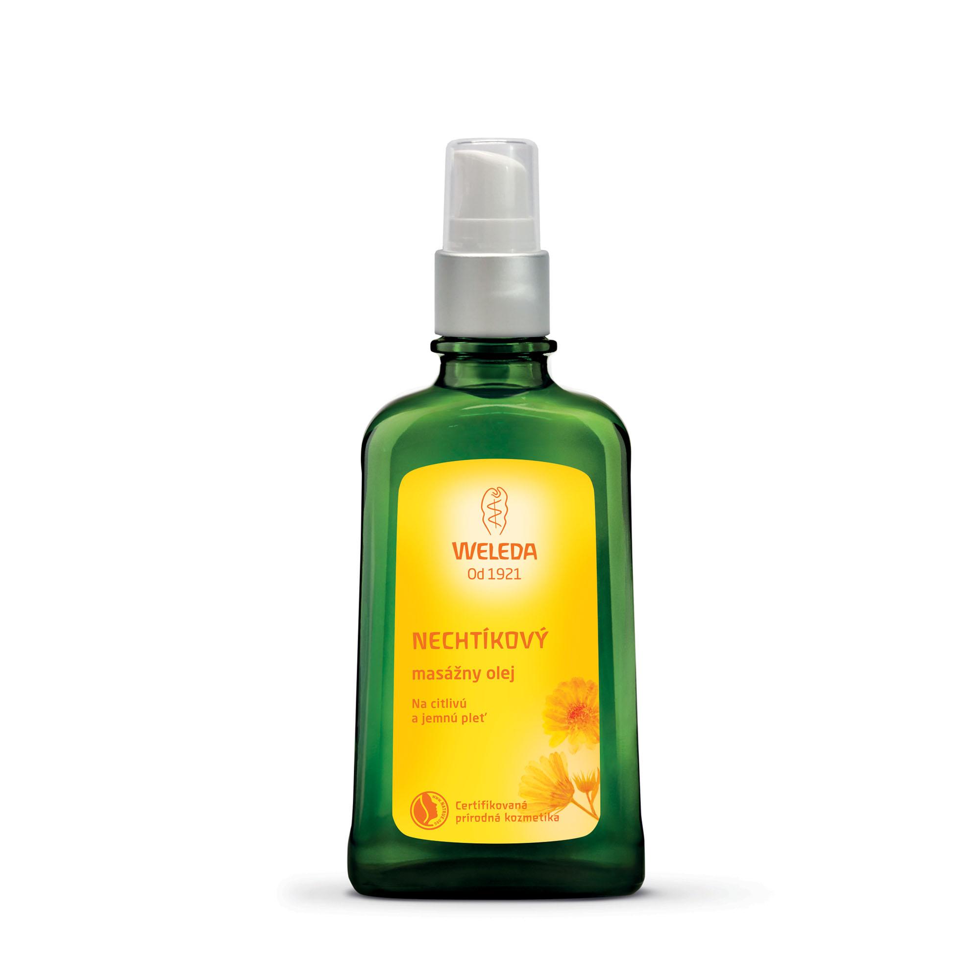 Měsíčkový masážní olej