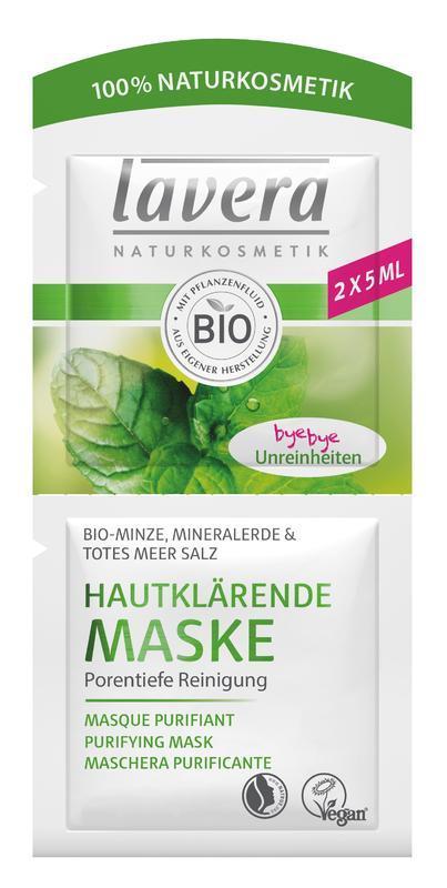 Lavera Hloubkově čisticí maska 2x5 ml 2x5 ml