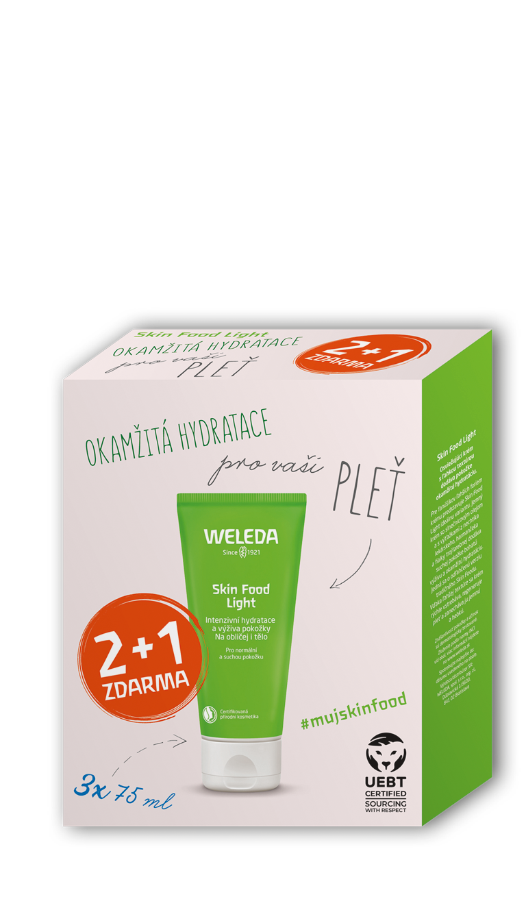 Weleda Skin Food Light Multipack 2 + 1 3 x 75 ml