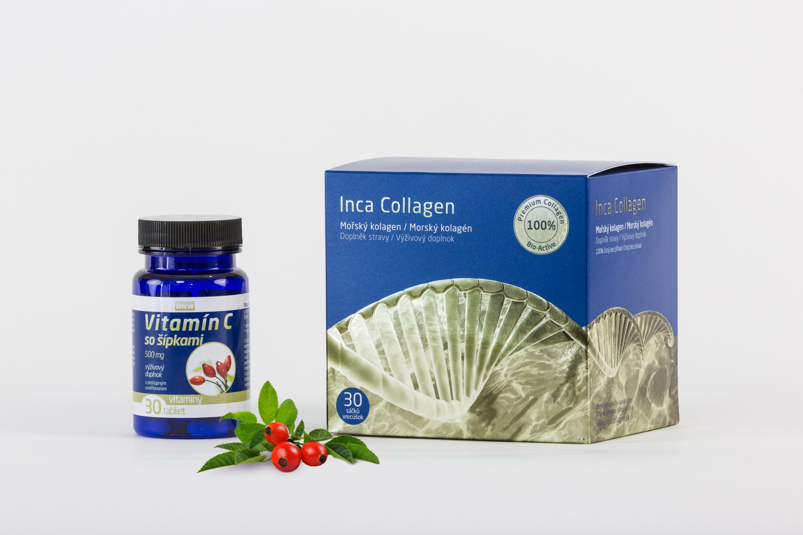 Inca Collagen - Mořský kolagen 100% čistý bez přísad