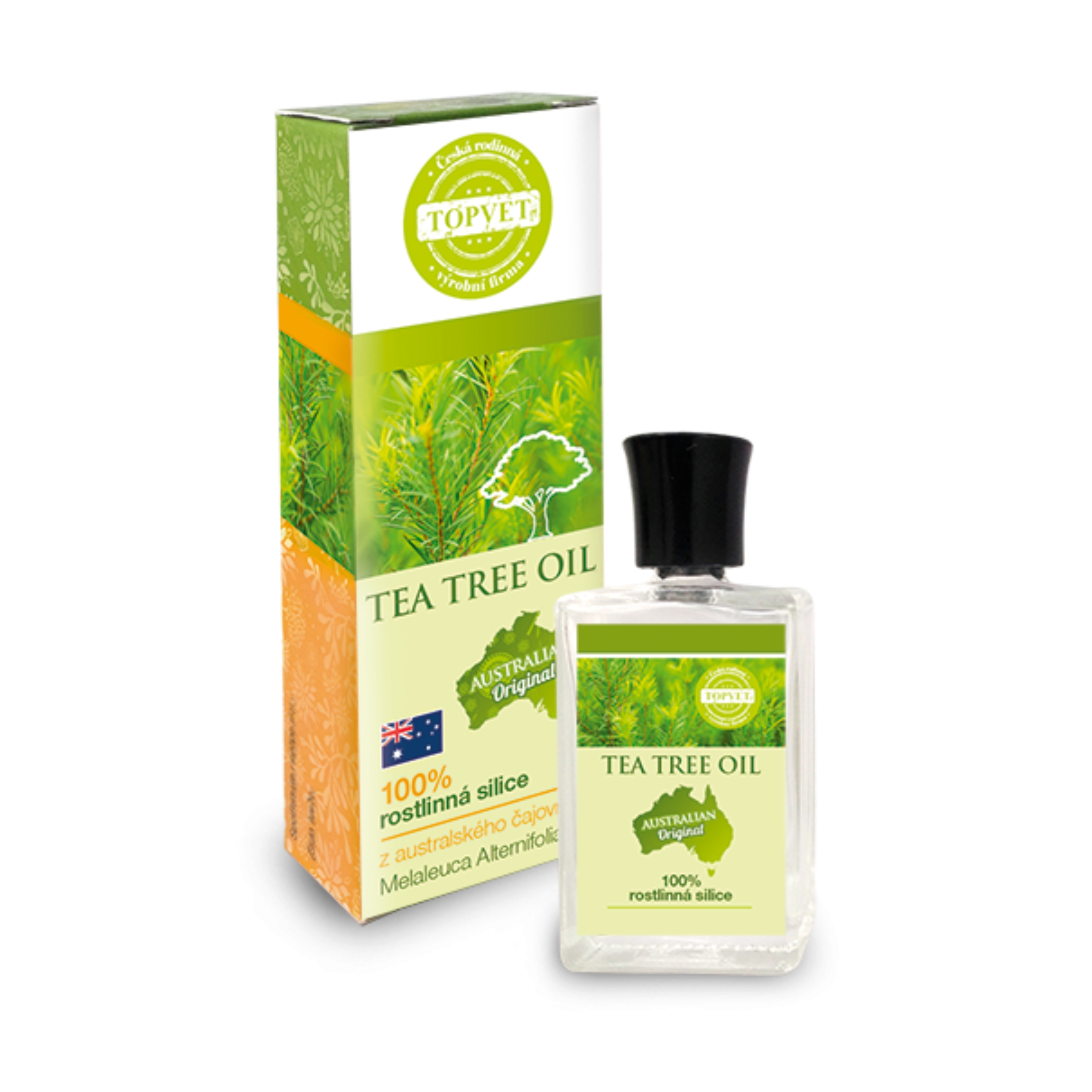 TOPVET Tea tree oil - rostlinná silice 10 ml 10 ml