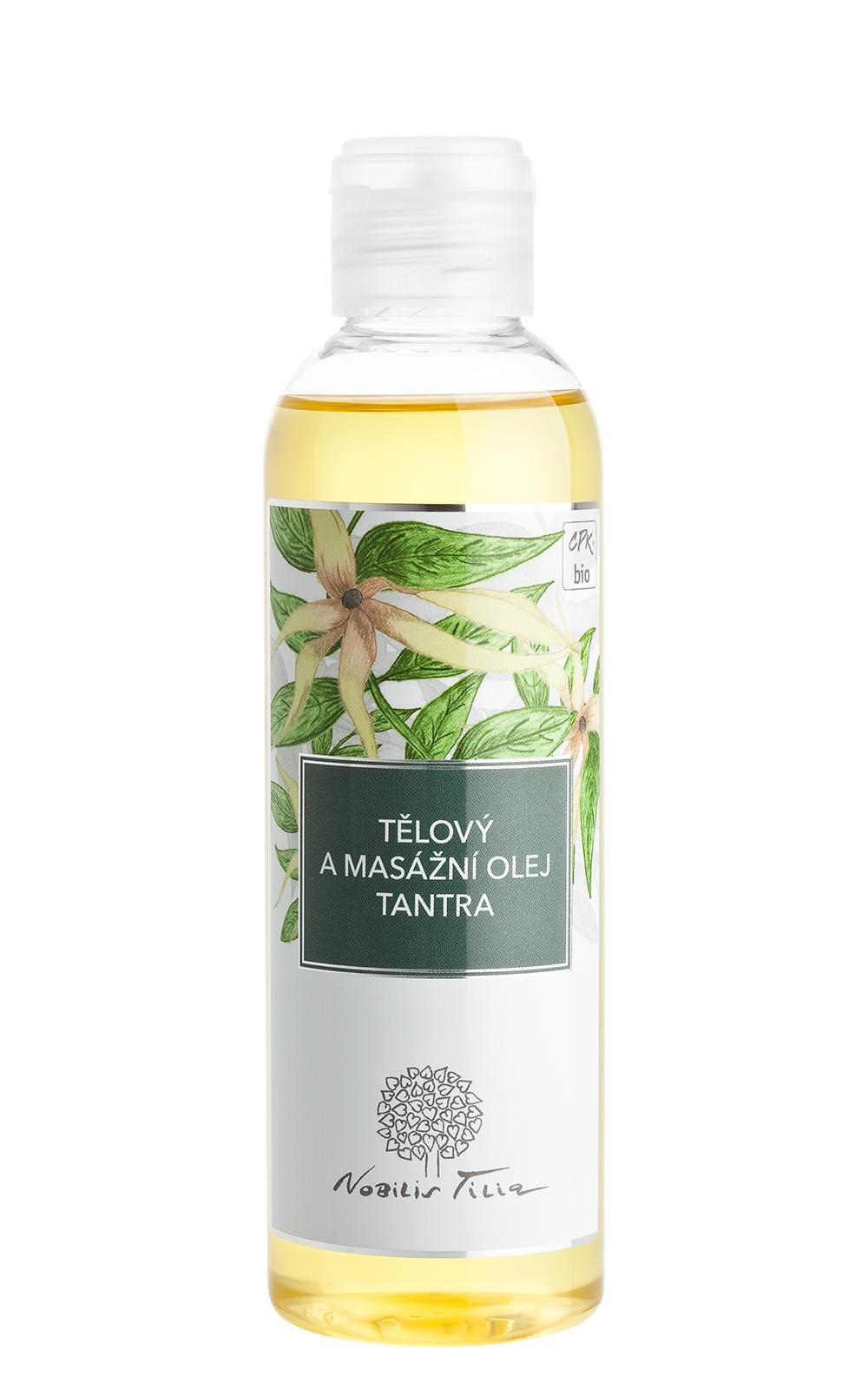 Nobilis Tilia TĚLOVÝ A MASÁŽNÍ OLEJ TANTRA 200 ml 200 ml