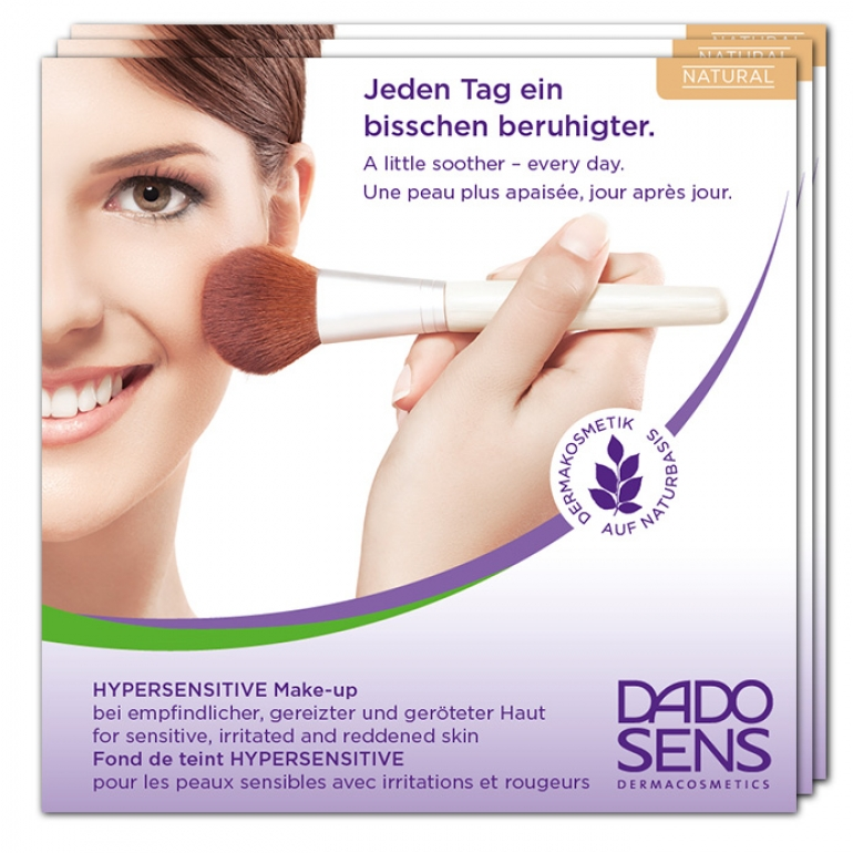 Hyper Sensitive Make up NATURAL pro citlivou pleť - VZOREK
