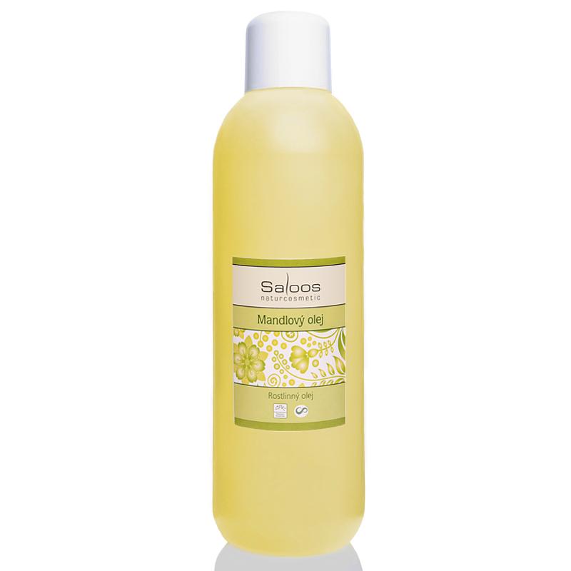 Saloos Mandlový olej rafinovaný Ph. Eur. 6.6 1000 ml 1000 ml
