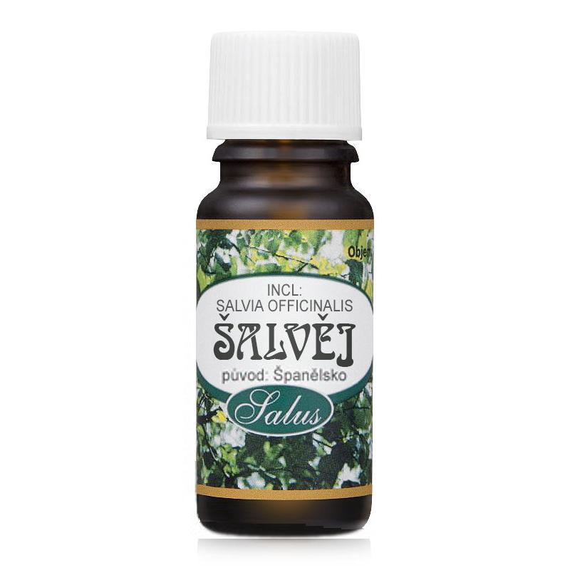 Levně Saloos Éterický olej - Šalvěj 10 ml Španělsko 10 ml