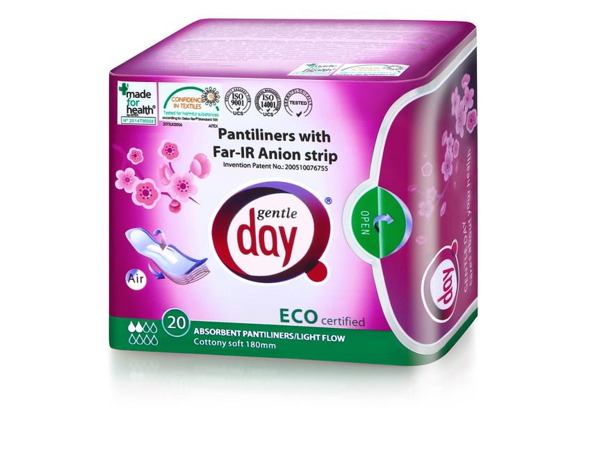 Aniontové absorpční intimky Gentle Day®