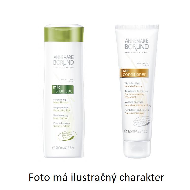 Annemarie Börlind Šampon pro denní používání + vlasový kondicionér - VZOREK 2 x 8 ml