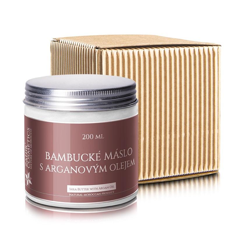 Levně Zahir Bambucké máslo s Bio arganovým olejem a vit. E, 200 ml - dárkové balení 200 ml
